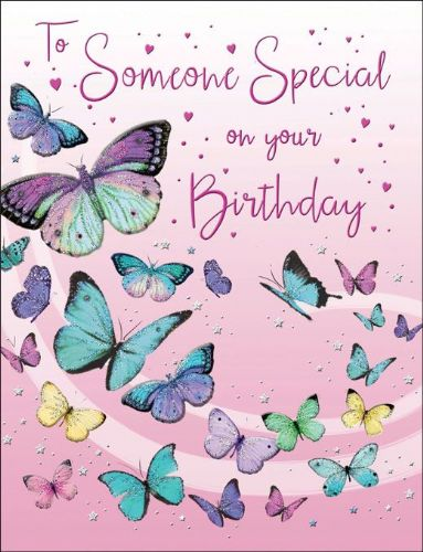 To Someone Special On Your Birthday Butterflies
